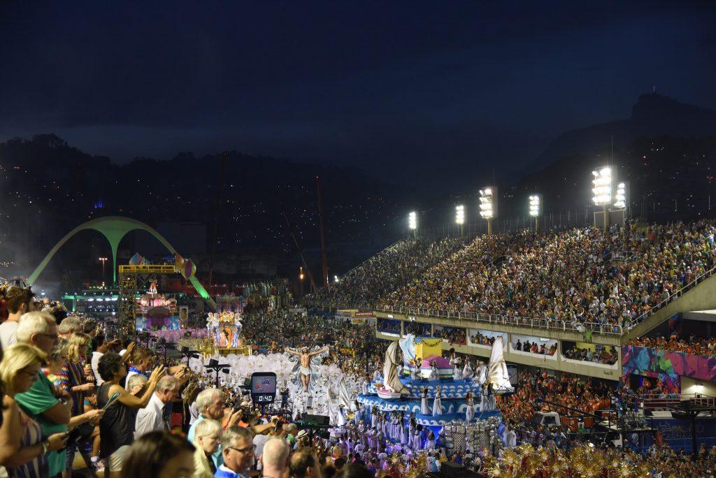 28/07/2017- Rio de Janeiro- RJ, Brasil- Carnaval 2017 – Desfile na Sapucaí –Carnaval 2017 - Desfile na Sapucaí - Mangueira - Grupo Especial - Foto: Alexandre Macieira /Riotur