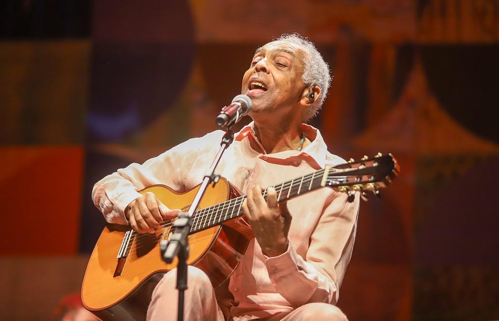 Gilberto Gil em foto de Ricardo Nunes